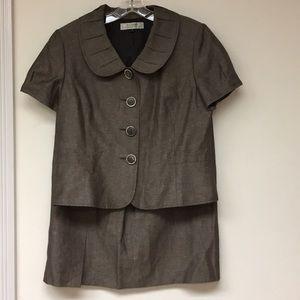 Tahari Arthur Levine 2pc Skirt Set Size 14